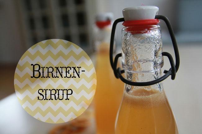 Birnen-Sirup von elf19.de