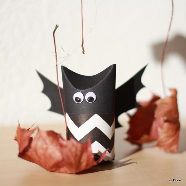 Gut bekannt Halloween DIY: Fledermaus Fridolin - elf19.de EU42