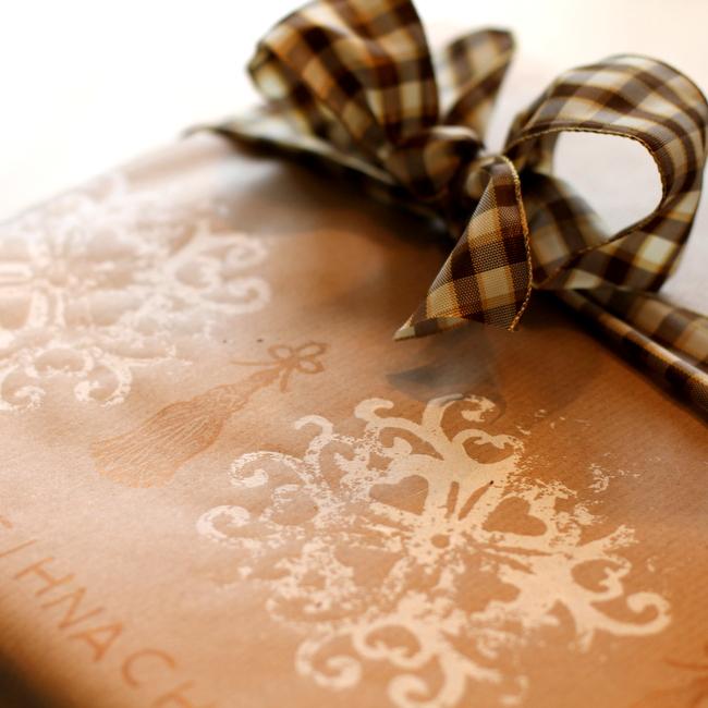 Geschenkpapier bedrucken