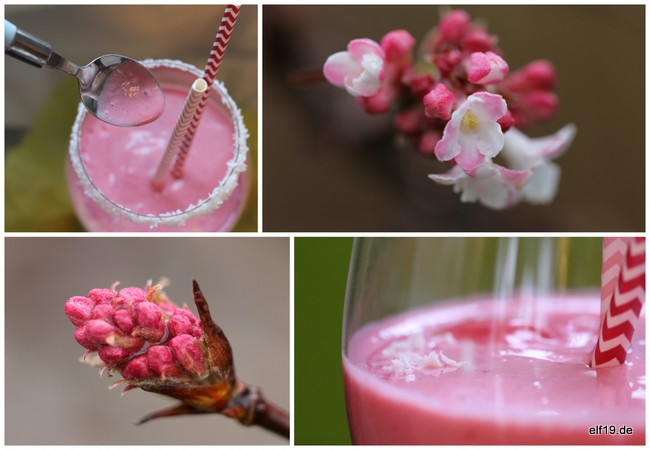 Raspberry-Cocos Smoothie
