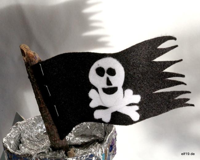 Piratenschiff  basteln