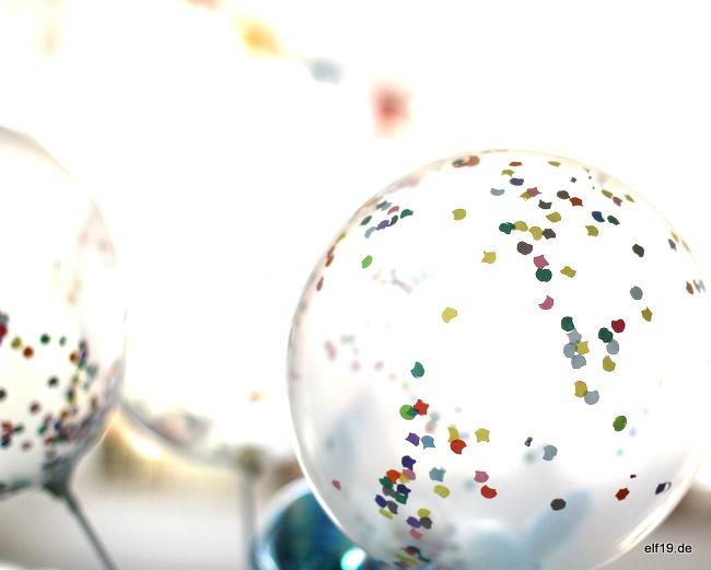 Konfettiluftballons