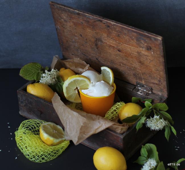Lemon Frozen Yoghurt