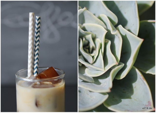 Vegan Almond Iced Coffee