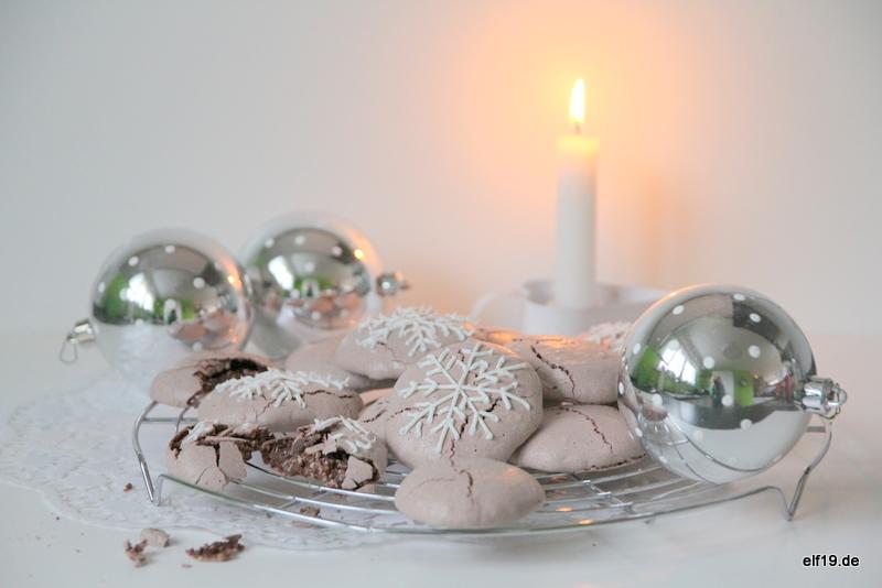 Schokoladen Baiser Cookies