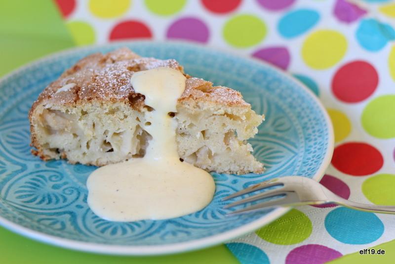 Irischer Apfelkuchen Kerry Cake
