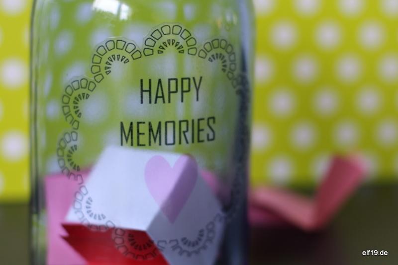 Erinnerungen im Glas