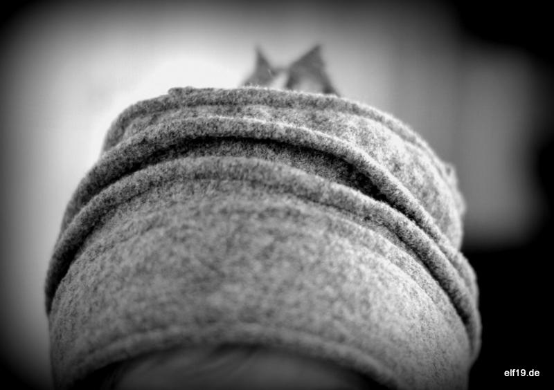 Mütze aus Walkstoff