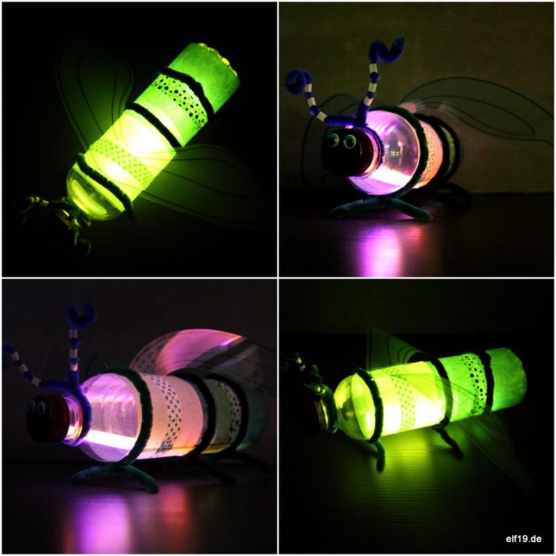 Upcycling Glühwürmchen