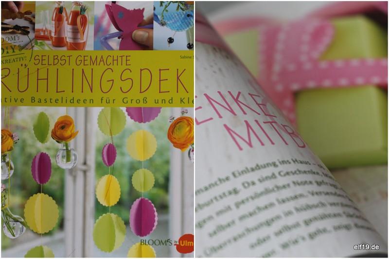 Buch: selbst gemachte Frühlingsdeko, Sabine Seyffert