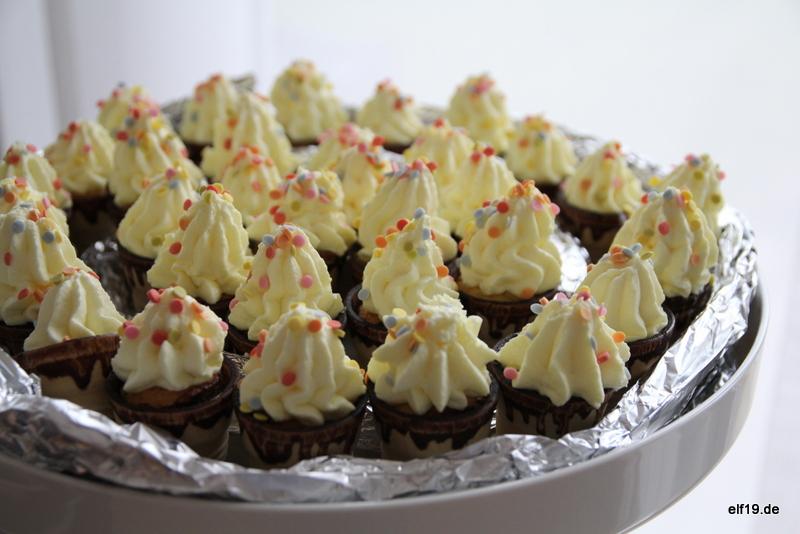Waffelcupcakes