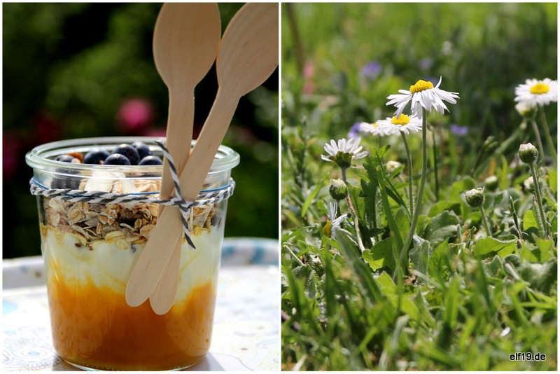 Müsli Trifle im Weck Glas