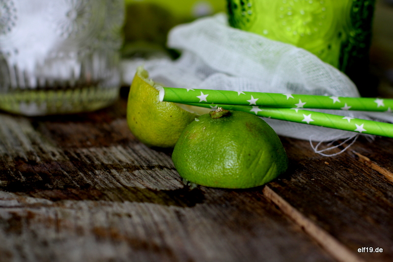 Apfel-Limetten Sorbet