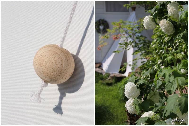 Tipi für den Garten