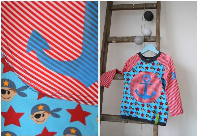 Geburtstagsshirt Piraten
