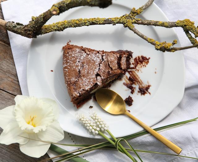 Brownie Cheesecake backen