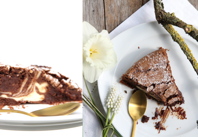 Rezept Brownie Cheesecake