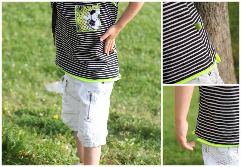 Shirt nähen für Jungs