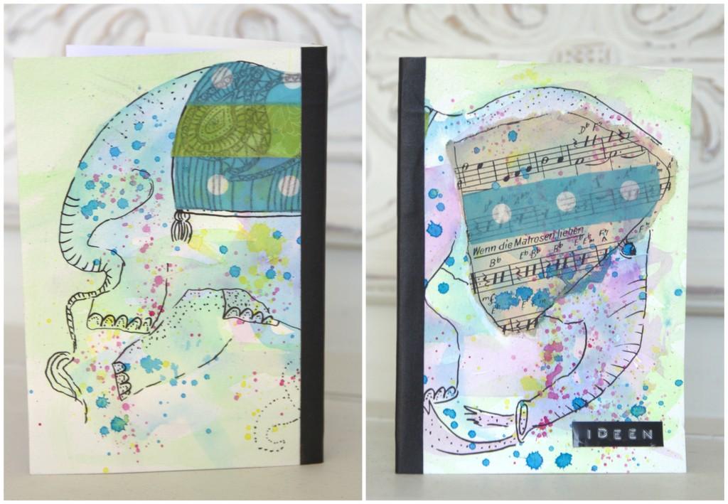 Notizbuch Selbst Nahen Eine Anleitung Viel Spass Beim Ausprobieren