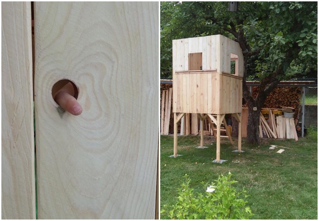 diy baumhaus aus paletten bauen ein tolles projekt f r den sommer wie wir das h uschen. Black Bedroom Furniture Sets. Home Design Ideas
