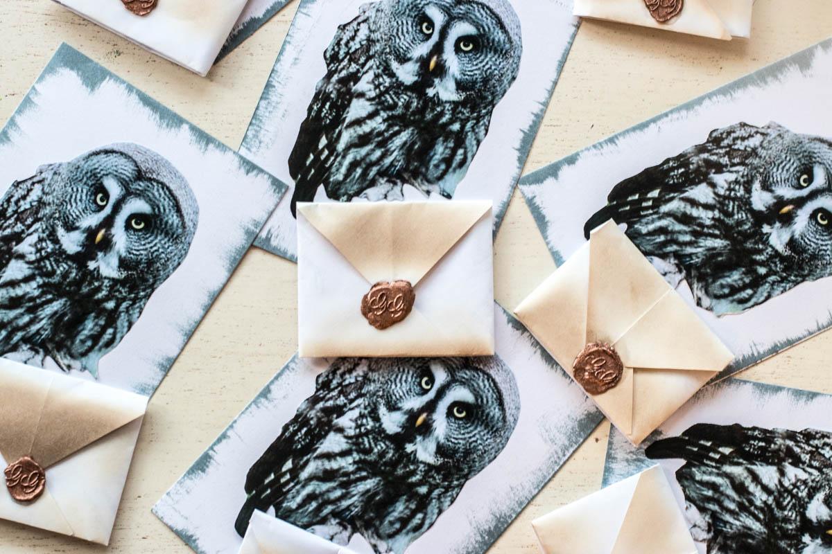 Harry Potter Party, Geburtstag, Einladung, DIY, Vorlage, Printable, ausdrucken, selber machen, Idee, Eule, Brief, Anleitung, Einladungstext, Text
