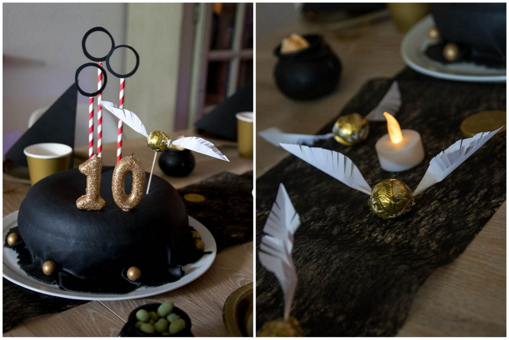 Harry Potter Party, Deko, Ideen, Kuchen, Torte, Harry Potter Torte, DIY, Kindergeburtstag, Tischdeko